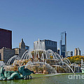 Buckingham Fountain Chicago by Christine Till