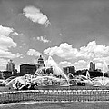 Buckingham Fountain In Chicago by Underwood Archives