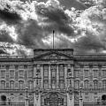 Buckingham Palace Bw by David French