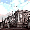 Buckingham Palace by George Pedro
