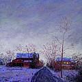 Bucks County Winter Twilight by Bob Richey