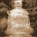 Buddha And Ancient Tree by Carol Groenen