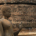 Buddha At Sukhothai 2 by Bob Christopher