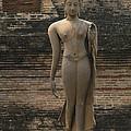 Buddha At Sukhothai 3 by Bob Christopher