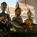 Buddha Figures by Gregory Smith