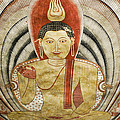 Buddha Painting In Sri Lanka by Michele Burgess