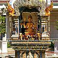 Buddha Shrine by Mariola Bitner