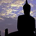 Buddha Silhouette by Thomas  von Aesch