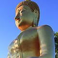 Buddha With Sunset by Thomas  von Aesch