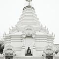 Buddhist Chedi by Shaun Higson