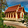 Buddhist Temple by Adrian Evans