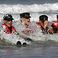 Buds Students Participate In A Surf by Stocktrek Images