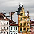 Budweis - Pearl Of Bohemia - Czech Republic by Christine Till