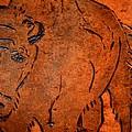 Buffalo Art by Maria Urso
