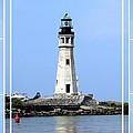 Buffalo Main Lighthouse by Rose Santuci-Sofranko