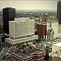 Buffalo New York Aerial View by Rose Santuci-Sofranko