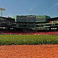 Bugs Eye View From Center Field by Paul Mangold