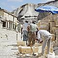 Builders Under Baking Heat by Kantilal Patel