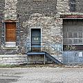 Building No.3 Garage Door by Anita Burgermeister