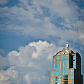 Building With Its Head In The Clouds by Ronda Broatch