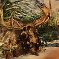 Bull Moose by Lynn Welker