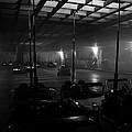 Bumper Cars In Fog by David Lee Thompson