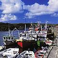 Bunbeg, Donegal, Ireland Harbour Of A by The Irish Image Collection