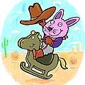 Bunny Cowboy by Scott Nelson