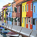Burano Italy 2 by Rebecca Margraf