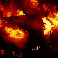 Burning House by Alan Sirulnikoff