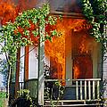 Burning House by Randy Harris