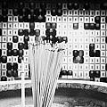 Burning Incense Joss Sticks In Columbarium Po Fook Hill Cemetery Sha Tin New Territories China by Joe Fox