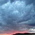 Burning Sunset by Jeff Krogstad