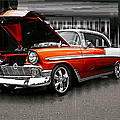 Burnt Orange Chevy Abstract by Randy Harris