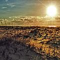 Burnt Orange Sunrise by Michael Thomas