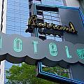 Burrard Hotel 1 by Randall Weidner
