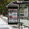 Bus Stop Bus Goes by Lorraine Devon Wilke