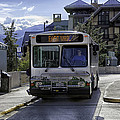 Bus To East Vail - Colorado by Madeline Ellis
