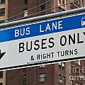 Buses Only I by Clarence Holmes