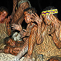 Bushmen by Maurizio Bersanelli