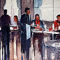 Business Lunch by Ryan Radke