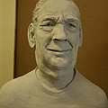 Bust Sculpture by Terri  Meyer