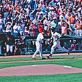 Buster Posey Runs Home by Eric Tressler