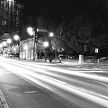 Busy Night On Peachtree _ Atlanta by Kathleen K Parker