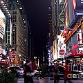 Busy Sidewalks Of The City by Living Color Photography Lorraine Lynch