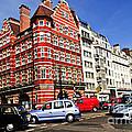 Busy Street Corner In London by Elena Elisseeva