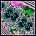 Butterflies On Parade Fractal 123 by Rose Santuci-Sofranko