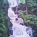 Buttermilk Falls by Samuel McMullen