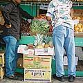 Buying Fruit by Natasha Harsh