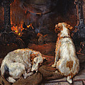 By The Hearth by Philip Eustace Stretton